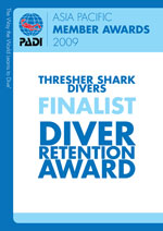 PADI Award Diver Retention
